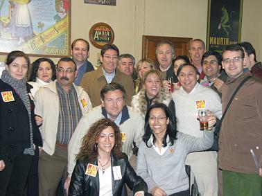 Encuentro de Teresa Perales con militantes y medios de comunicación
