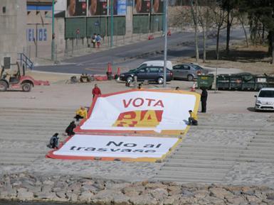 """""""Exigiré que el Estado mantenga la inversión de la Expo en Aragón para ejecutar las obras del Pacto del Agua"""""""